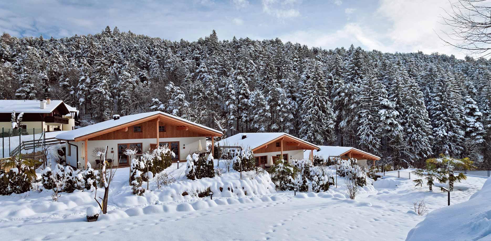 Chalet in Tisens - Winterurlaub bei Meran, Südtirol